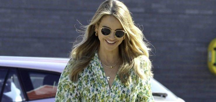 Модель Vogue Williams В Коротком Летнем Платье